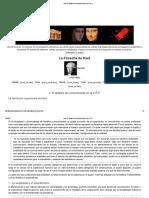 Kant. El Análisis Del Conocimiento en La C.R