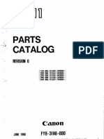 Canon PC 11 Parts Catalog