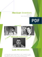 British Culture Activity 3 Mexican Inventors Tuesday N4 1522842