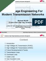High Voltage Engineering for Modern Transmission Networks
