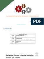 Presentación1_Introducción Admon Mantenimiento