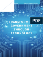 Transforming Government Through Technology
