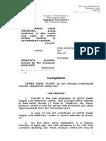 Complaint - CMCM v Alvaro