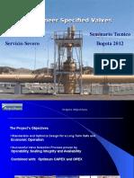 Severe Service Applications Presentation Bogota Feb 2012