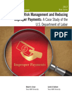 Risk Management and Reducing Improper Payments