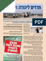 אגודת חלמיש - חרדים ליהודה ושומרון