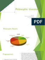 philosophic inventory ss