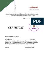 Certificat SNAC