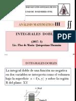Integrales dobles.2017