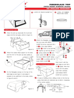 Non Drill Fitting Instructions