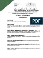 7. Evaluación de Aptitud Diplomática