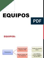 Capitulo 4 Equipos Herramientas y APU 2017-I