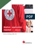 Asylum application rejected - return
