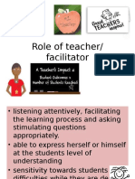 Role of Teacher