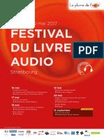 Festival Livre Audio Programme 2017