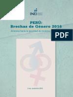INEI Brechas de Género