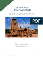 MR. VINOD PANDYA - Devbhoomi Uttarakhand