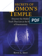 The Secrets of Solomon's Temple, Discover the Hidden Truth That Lies at the Heart of Freemasonry - Kevin L Gest