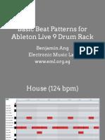 basicbeatpatternsforabletonlive9drums-140902124759-phpapp01