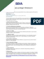 8 Consejos Para Proteger Windows 8
