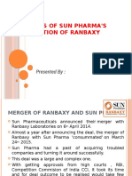 Sunpharma Ranbaxy Acquisition