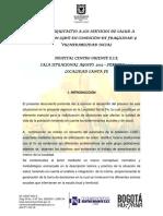Acceso a Los Servicios de Salud Poblacion LGBTTTI _ Bogota