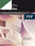 analisis y evaluación de acceso mujeres a vida sin violencia