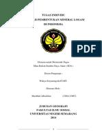 Pembentukan Mineral Logam Di Indonesia-tugas