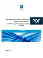 Reserves and Resources Reporting Mining Oil Gas Coys