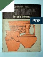 Constantin Preda - Geto-dacii Din Bazinul Oltului Inferior-dava de La Sprancenata