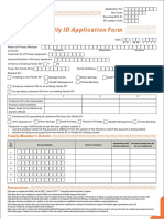 Family Id Form