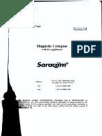 Magnetic Compass Saracom mc 180