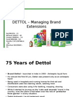 Dettol Brand analysis