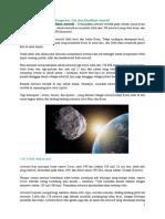 Pengertian, Ciri, dan Klasifikasi Asteroid .docx