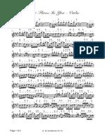 River flows in you - violin