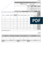 IMS-FM013-02 OHSE Risk Assessment Form