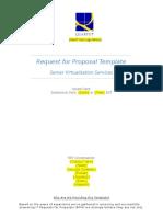 Server Virtualization RFP Template