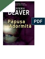 Jeffery Deaver - [Kathryn Dance] 01 Papusa Adormita #1.0-5