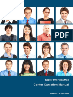 Interviewmax Centre Operational Manual