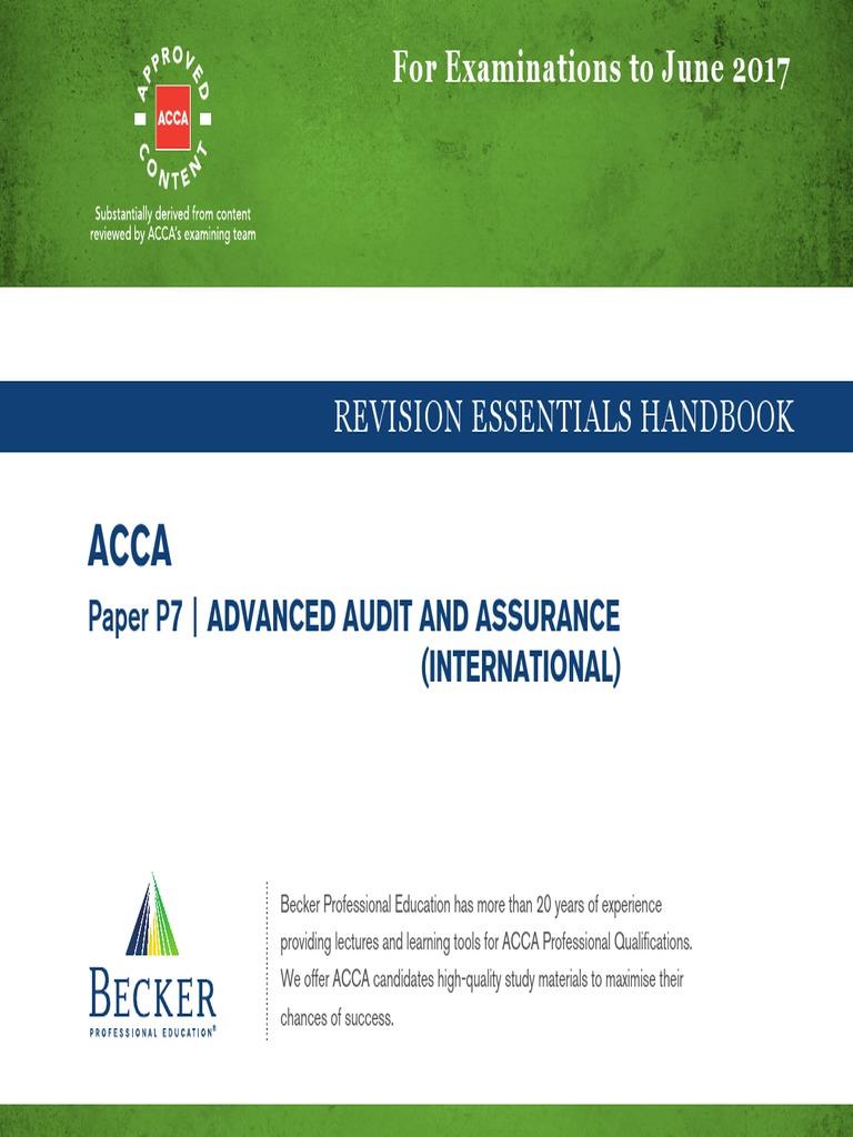 Accalsbfvideos acca revision essentials handbook p7 money accalsbfvideos acca revision essentials handbook p7 money laundering audit spiritdancerdesigns Gallery