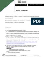 Producto académico N°3 Emprendimiento e Innovación