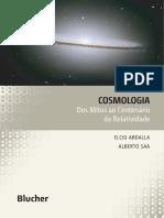 Cosmologia - Dos Mitos Ao Centenário Da Relatividade