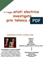 2-Proprietati Electrice Investigate Prin Tehnica AFM