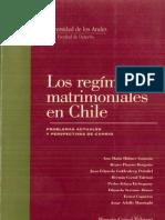Cuaderno de Extensión Jurídica N° 2 Los Regímenes Matrimoniales en Chile