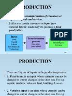 Econ Analysis Production