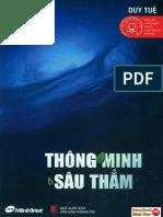Thông minh sâu thẳm (Duy Tuệ) pdf|epub -download sách free