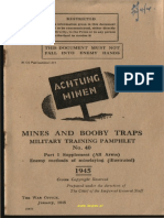 Mines and Boobytraps Part 1 Supplement 1945