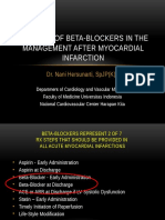 The Role of Beta-blockers in the Management After MI - New Version