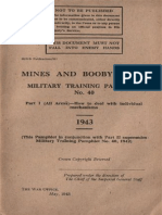 Mines and Boobytraps Part 1. 1943