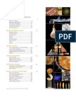 Modernist Cuisine Table of Contents